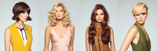 Four hair looks from Saks