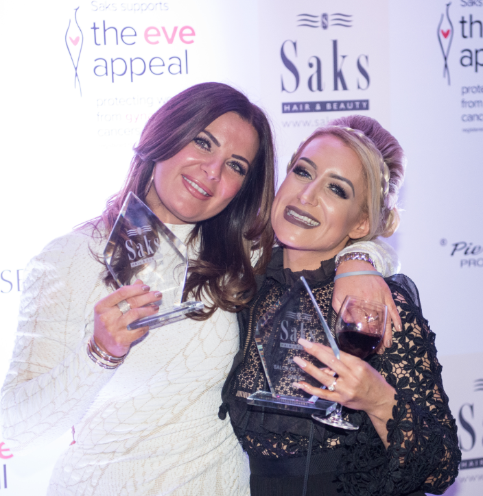 Joint Beauty Salon of the Year winners Saks Awards 2016