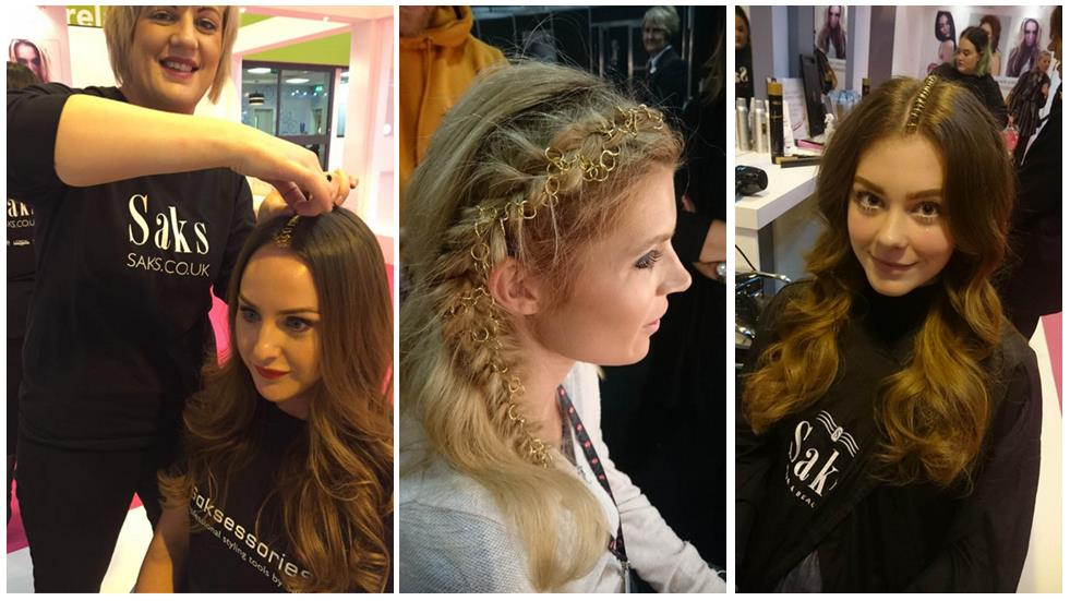 Hair by Saks at The Clothes Show 2015