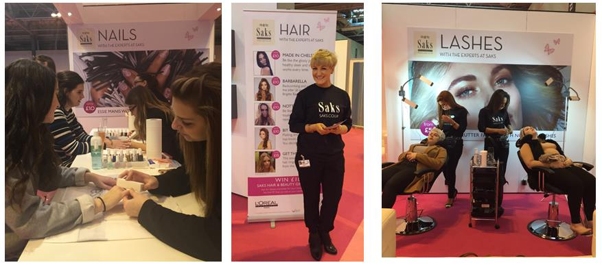 Nails, Hair and Lashes treatments galore!