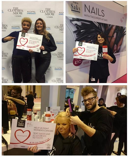 Saks4Eve at The Clothes Show 2015