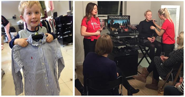 More Saks4Eve fundraising at Saks salons