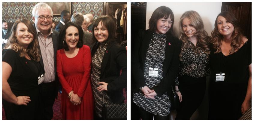 Saks at House of Commons with The Eve Appeal