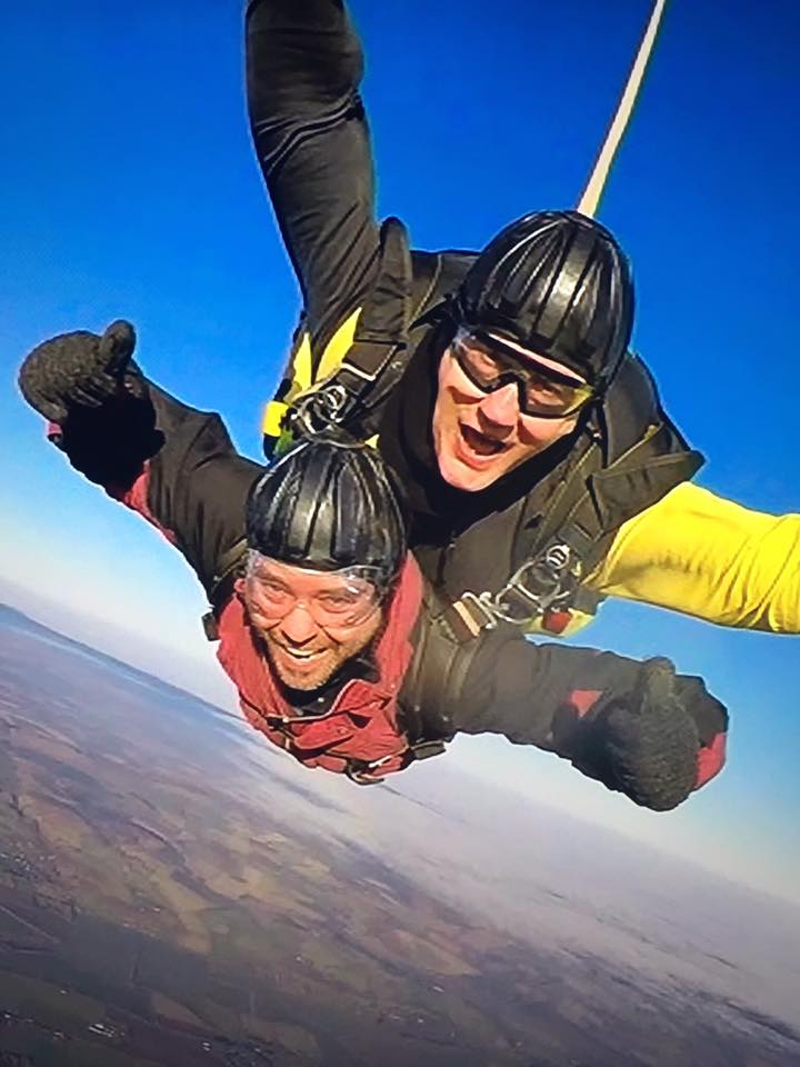 Saks skydive for The Eve Appeal