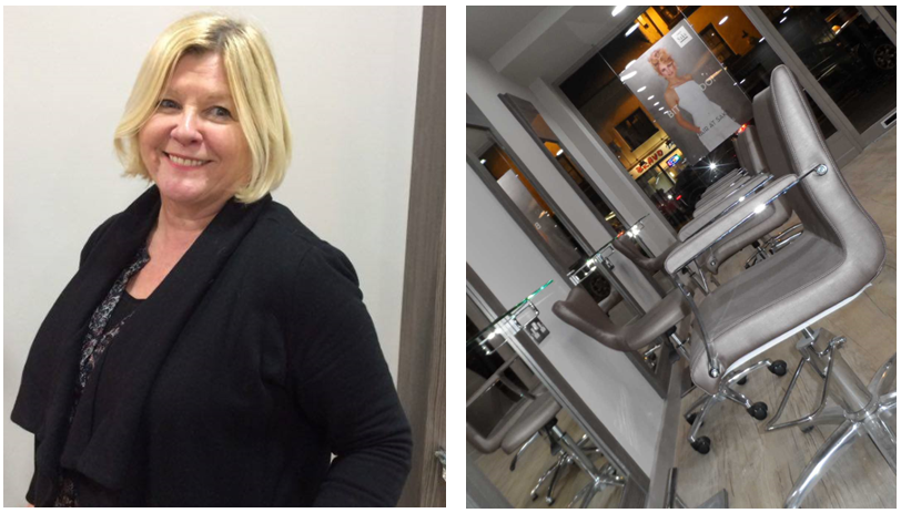 Saks Knaresborough salon owner Andrea