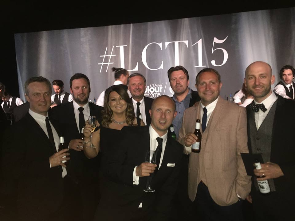 Saks salon owners at LCT15