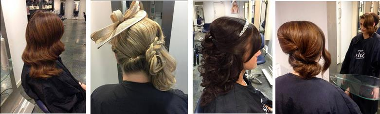 Selection of hair styles from Saks Middlesbrough