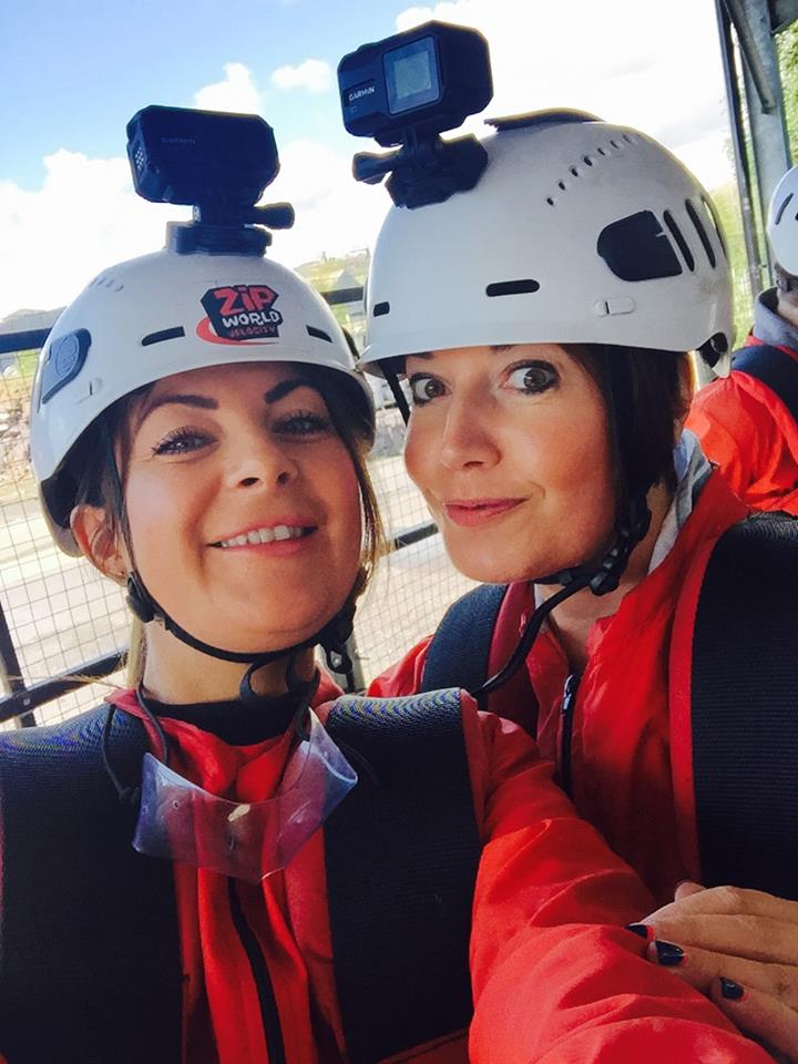 Saks zip wire for The Eve Appeal