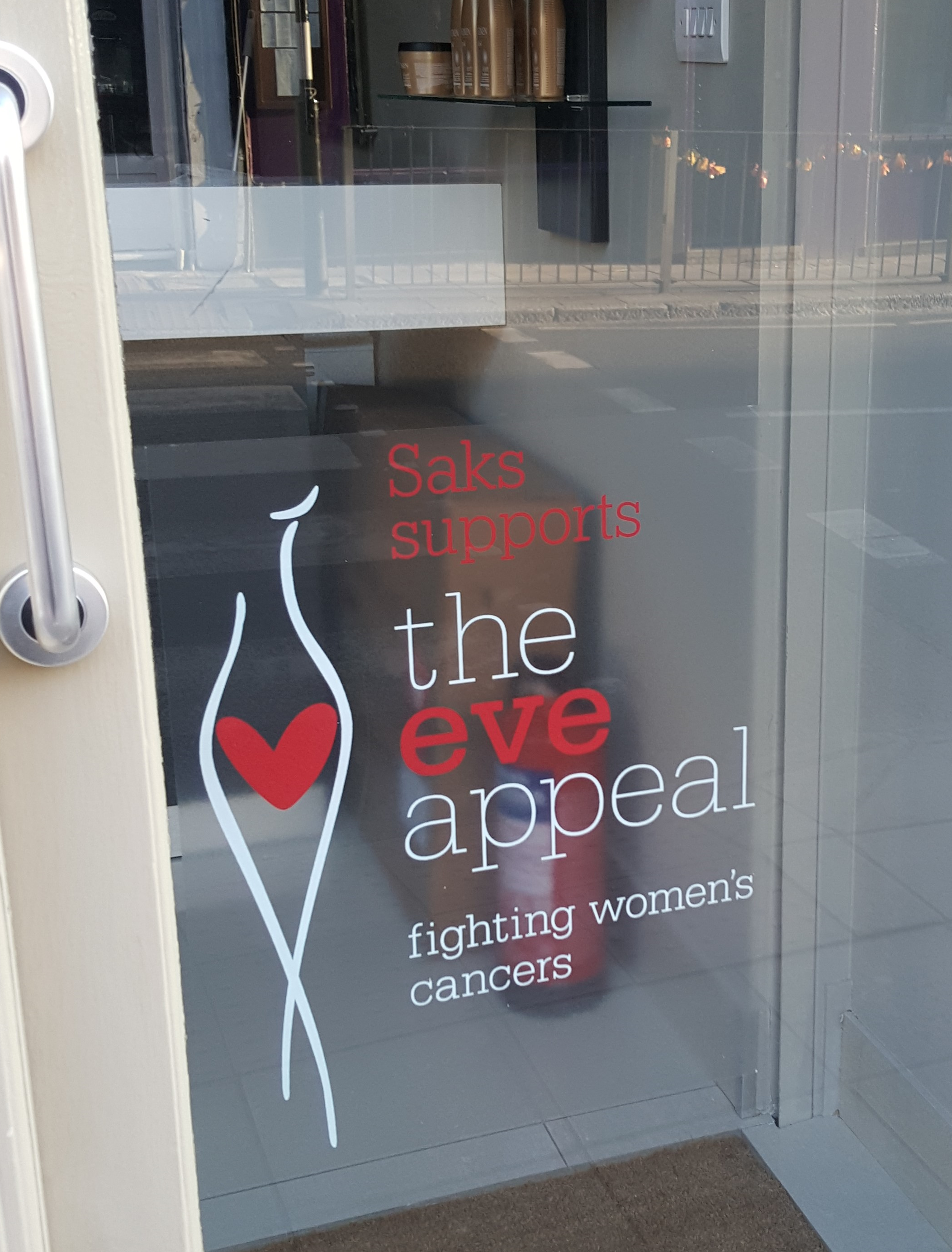 Saks Crouch End is fighting women's cancers with The Eve Appeal