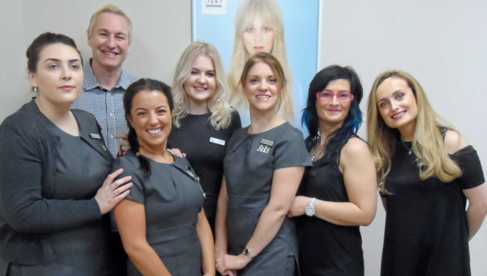 Caroline Tinker and Saks Warrington team