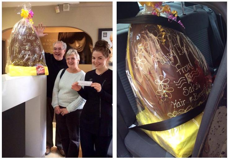 Saks Ripon Big Bunny Easter Egg competition winners