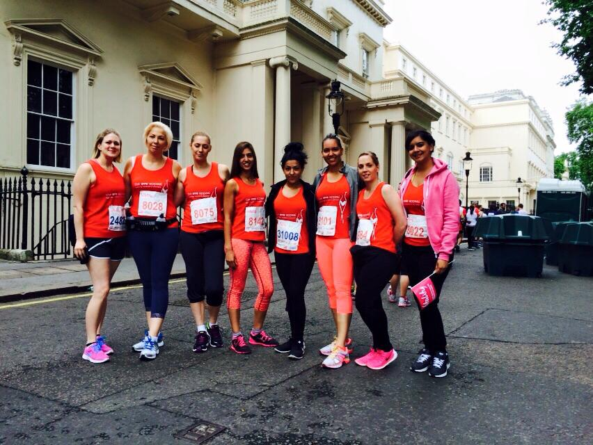 Saks Heston British 10k for The Eve Appeal