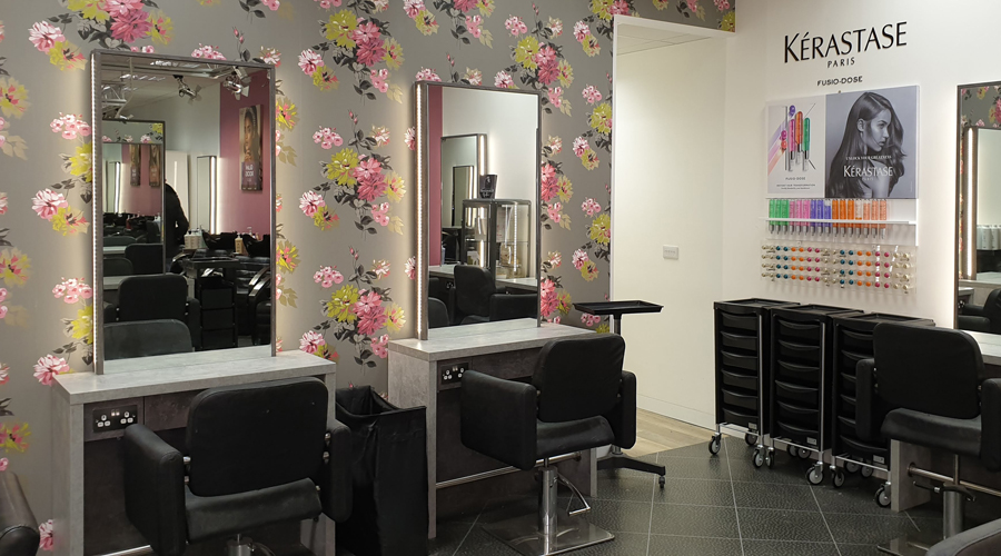 Saks Addlestone hair salon chairs