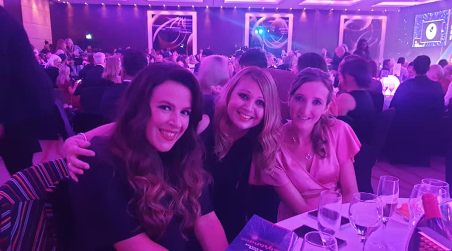Mary, Claire and Nikala of Saks Kings Hill at BHBAs 2019