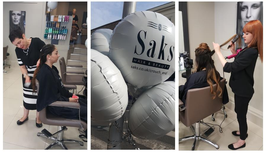 Saks Crouch End opening day