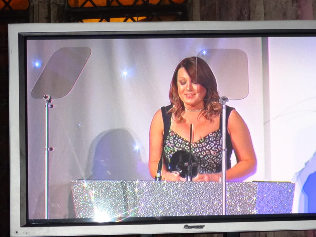 Claire Denyer of Saks acceptance speech