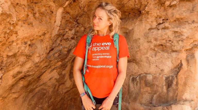 Emma Saks Northallerton charity trek