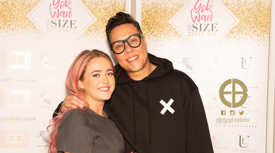Brooke of Saks Bishop Auckland with Gok