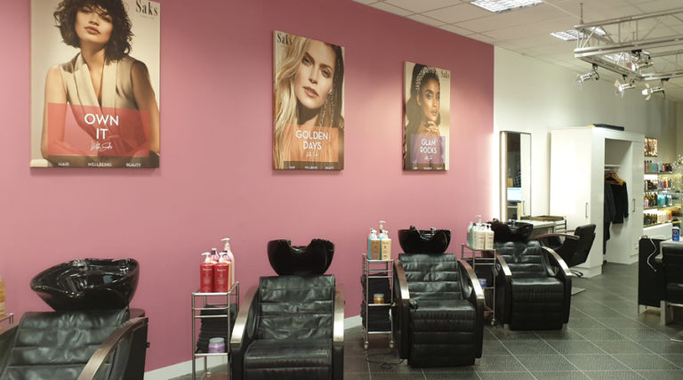 Saks Addlestone hair salo