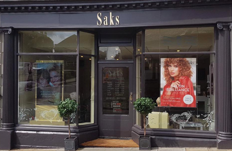 Saks Barnard Castle hair salon exterior