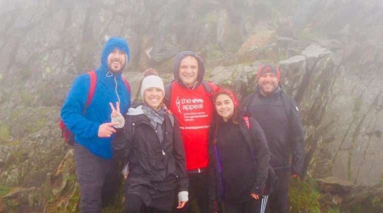 Saks Hertford climb Mount Snowdon for Eve