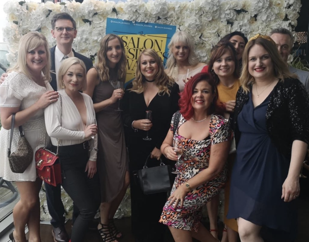 Saks at Salon Business Awards