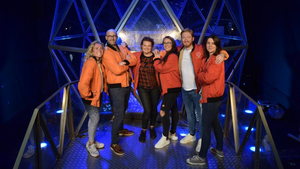Saks UK team at Crystal Maze Live