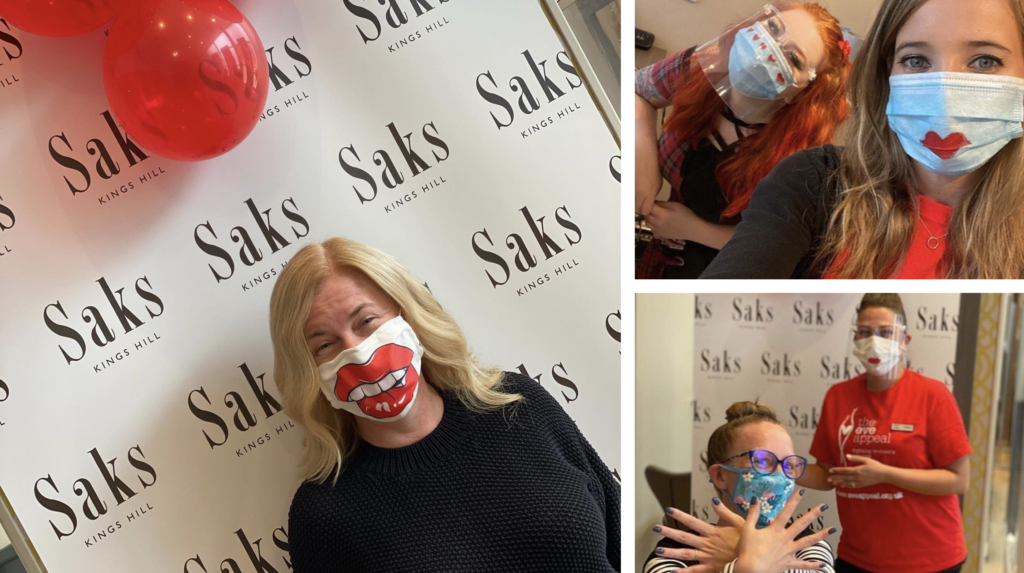 Saks Kings Hill Go Red for Eve
