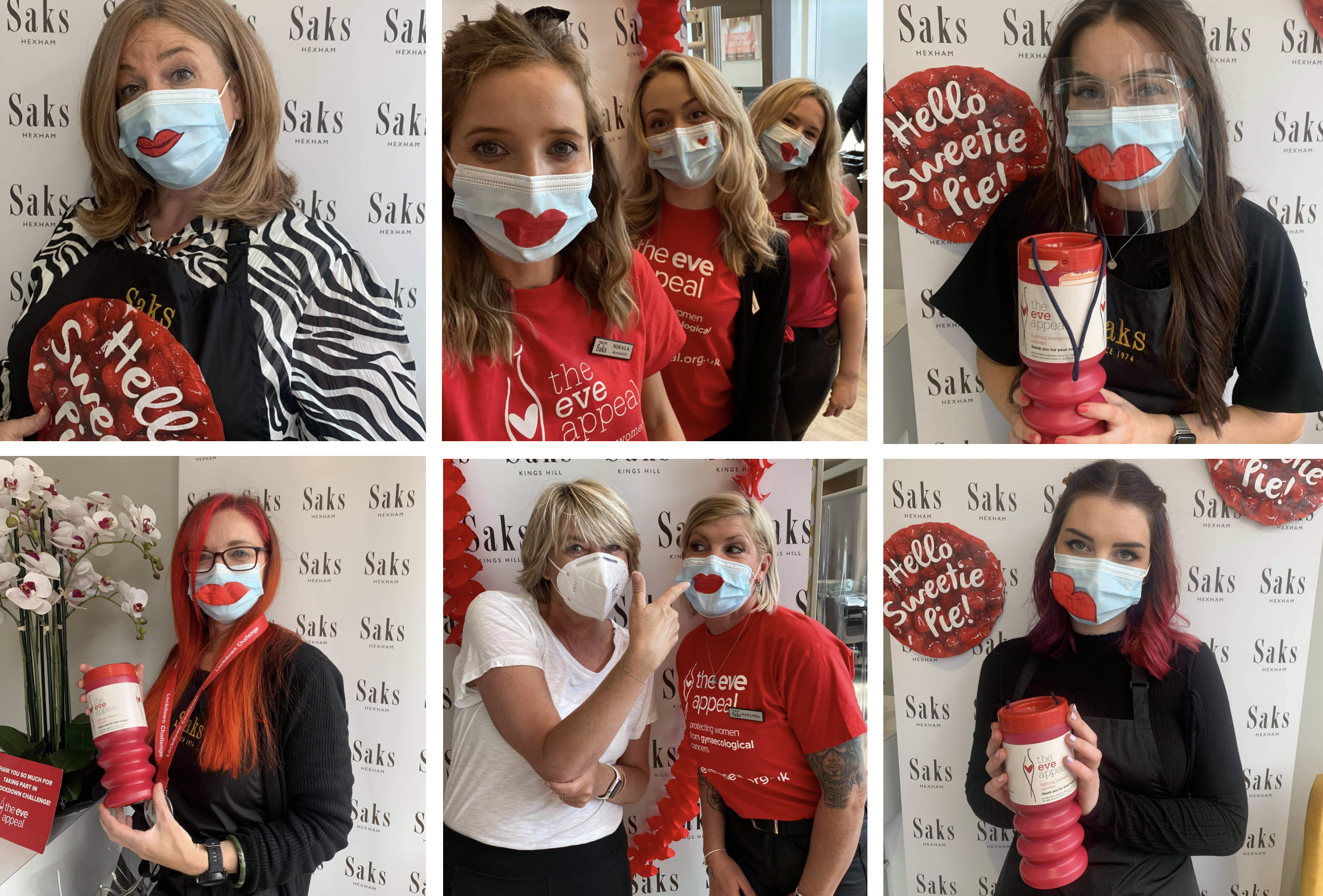Saks4Eve fundraising - Get Lippy for The Eve Appeal at Saks