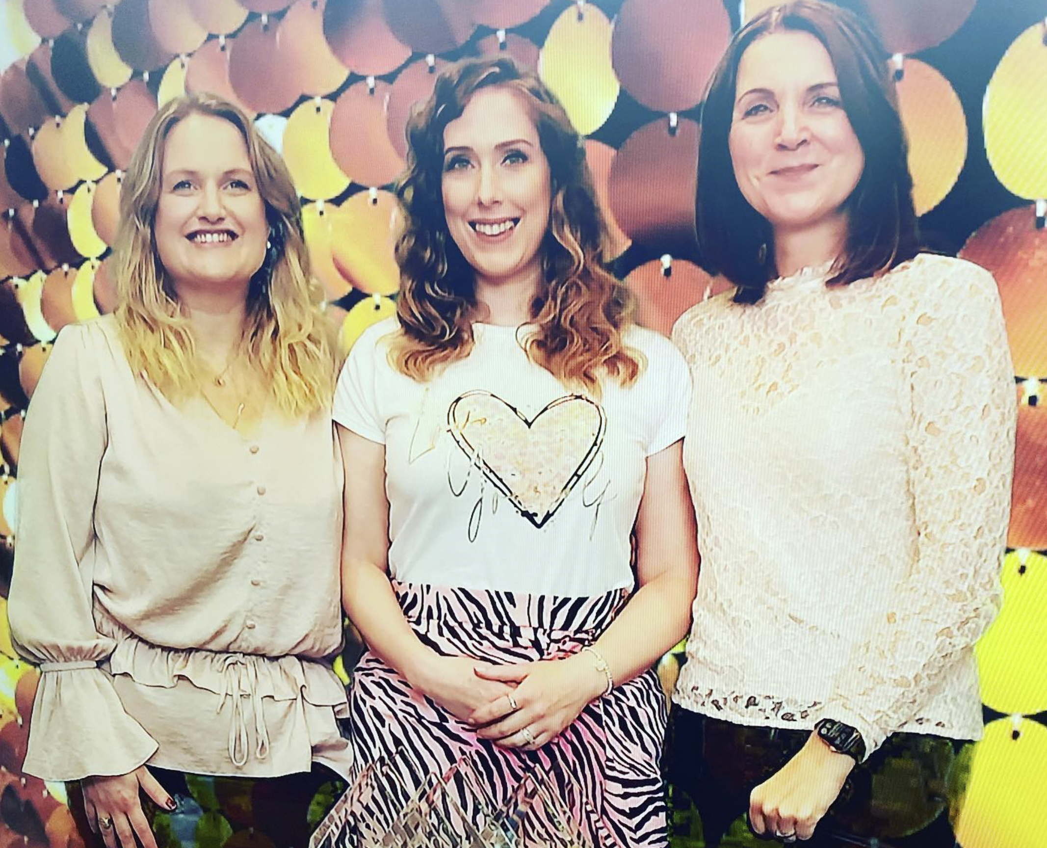 Jemma, Suzanne and Janet of Saks HQ