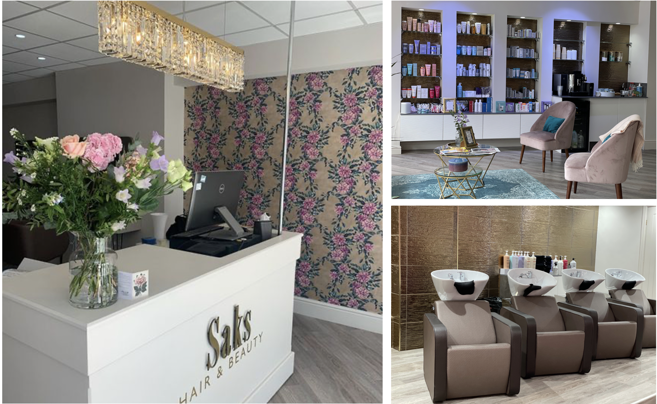 Saks Leeds City salon interior images