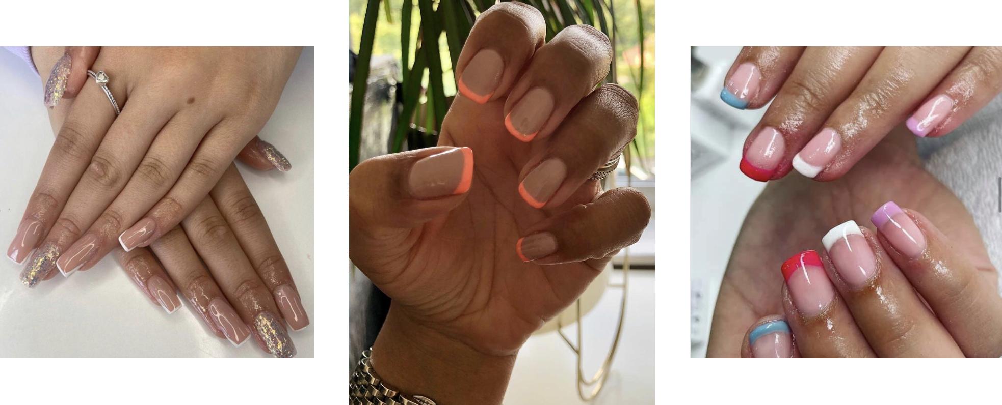 Summer 2021 nail trends at Saks